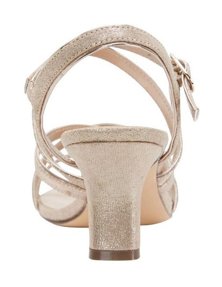 Genaya Taupe Reflective Suede Sandal image 4