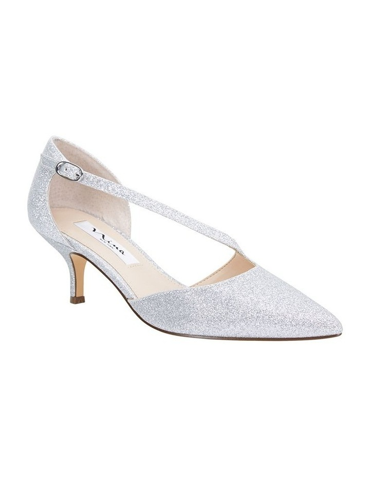 Tirisa Silver Baby Glitter Pump image 2