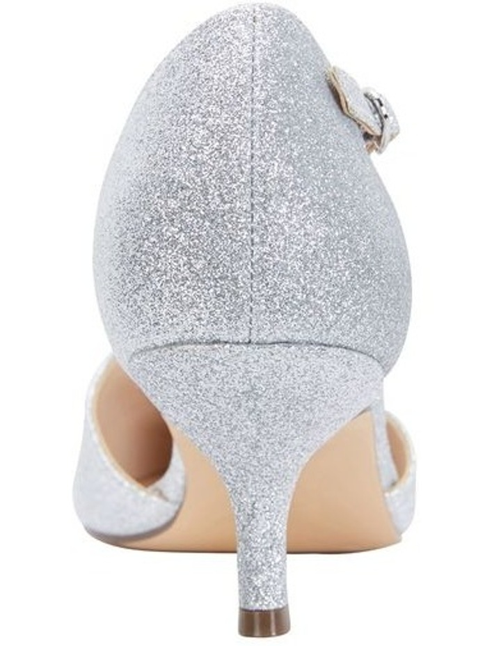 Tirisa Silver Baby Glitter Pump image 4