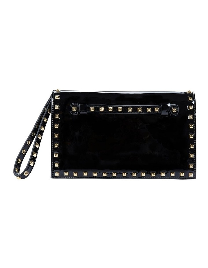 Pink Inc H-SABLE Black Patent Bag image 1