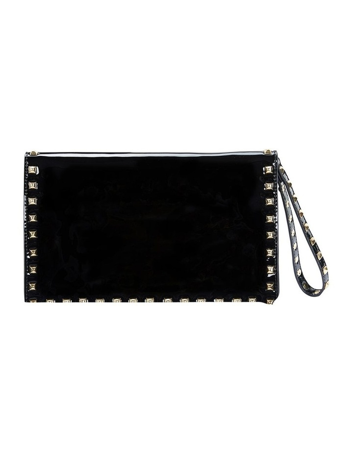 Pink Inc H-SABLE Black Patent Bag image 2