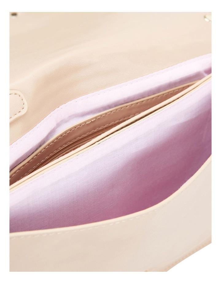 Pink Inc H-SABLE Nude Smooth Bag image 4