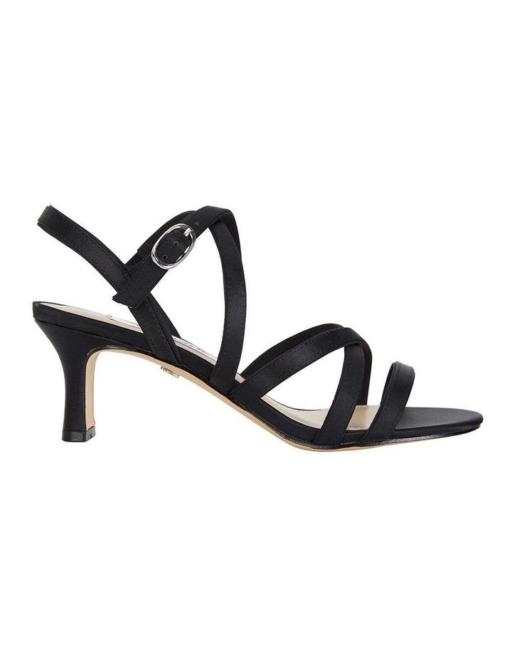 Genaya Noir Satin Sandal image 1
