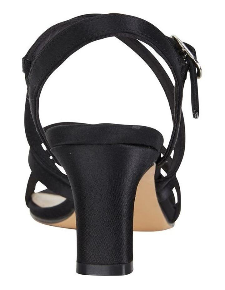 Genaya Noir Satin Sandal image 5