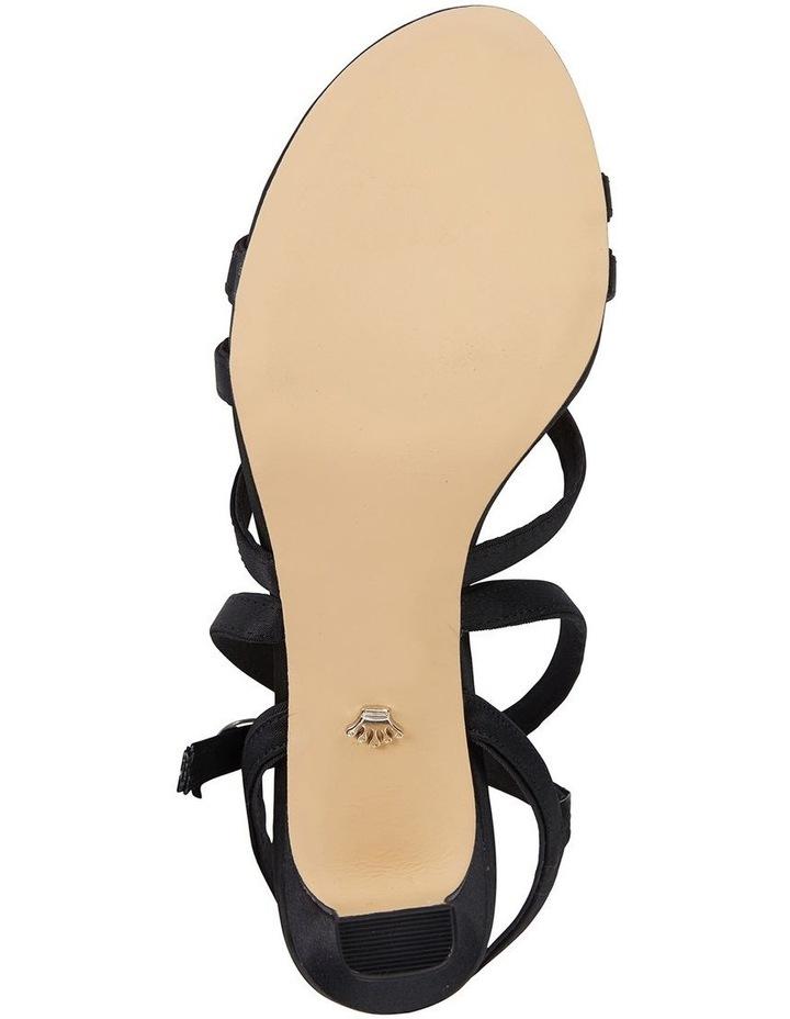 Genaya Noir Satin Sandal image 6