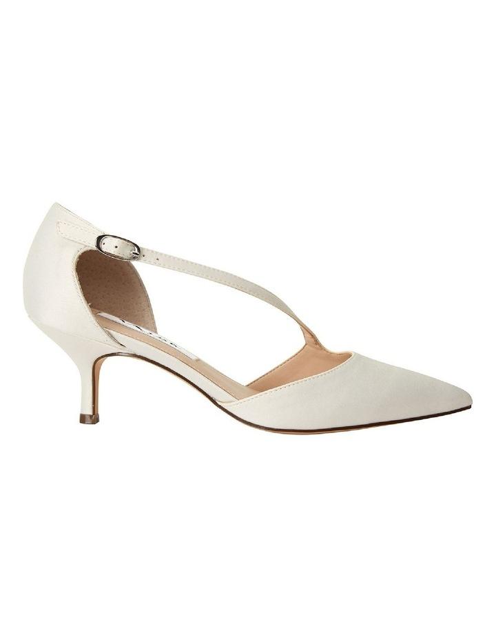 Tirisa Ivory Satin Heeled Shoe image 1