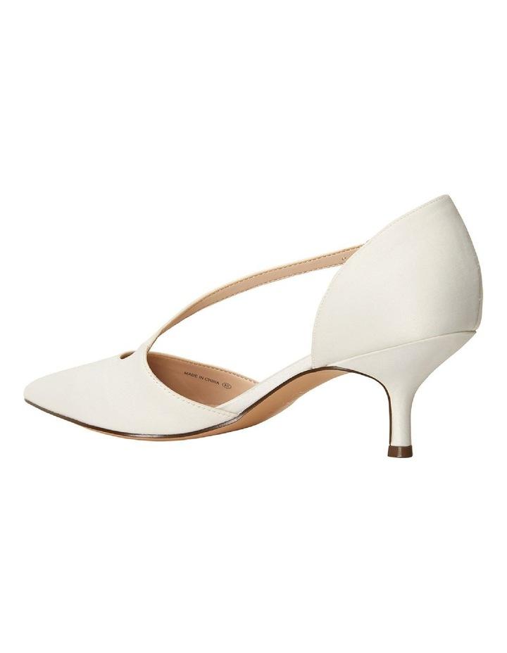 Tirisa Ivory Satin Heeled Shoe image 3