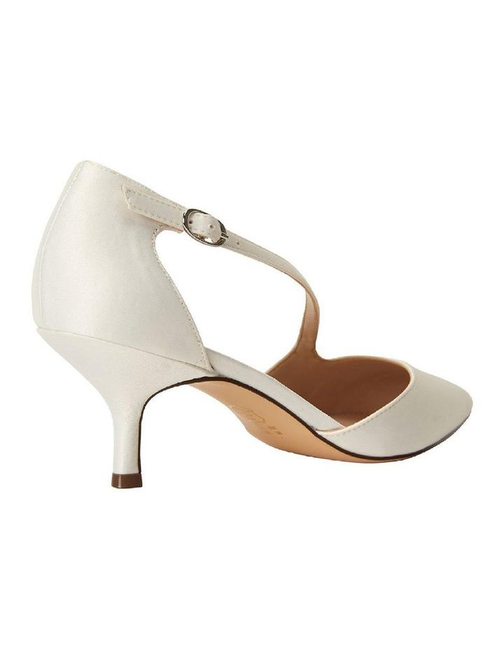 Tirisa Ivory Satin Heeled Shoe image 4