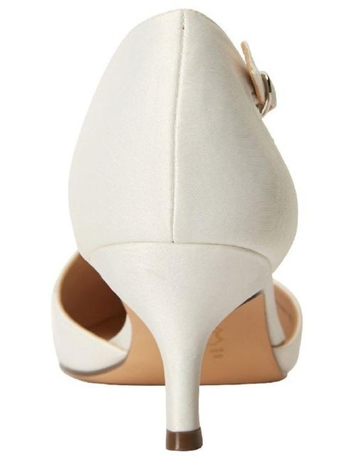 Tirisa Ivory Satin Heeled Shoe image 5