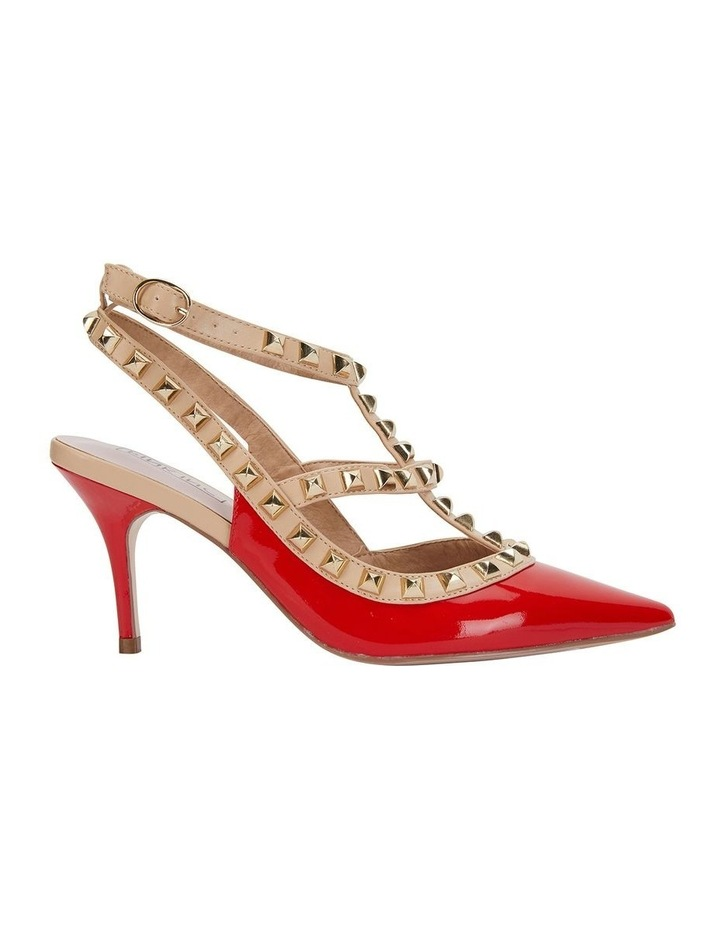 Sphinx Red Patent/Nude Pump image 1