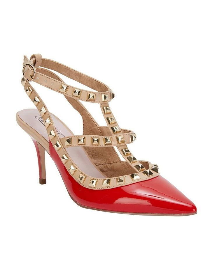 Sphinx Red Patent/Nude Pump image 2