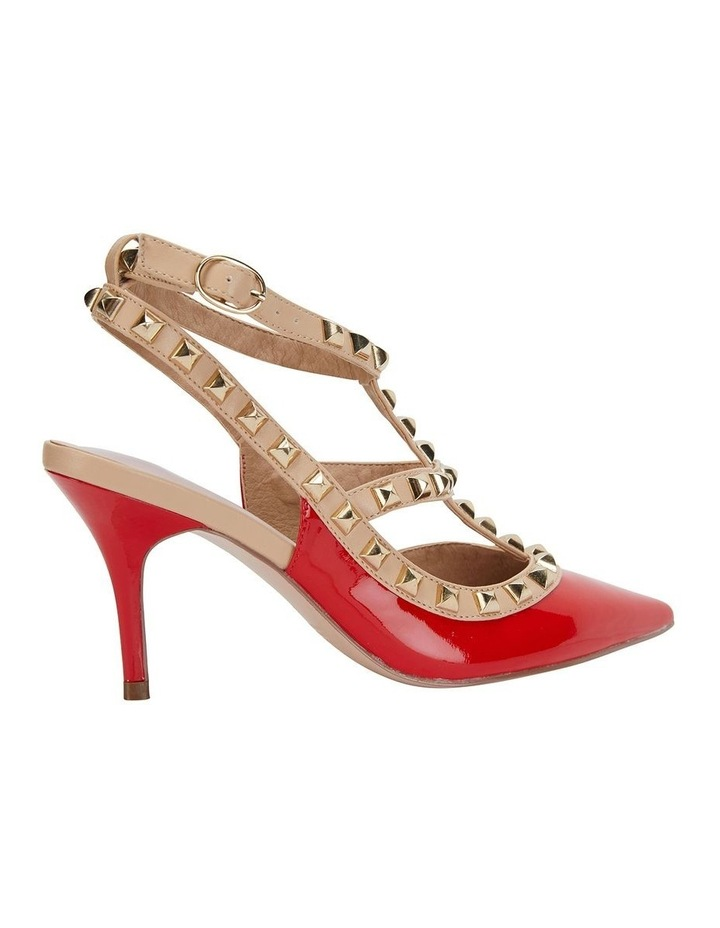 Sphinx Red Patent/Nude Pump image 4
