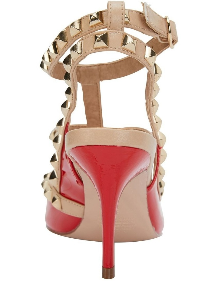 Sphinx Red Patent/Nude Pump image 5