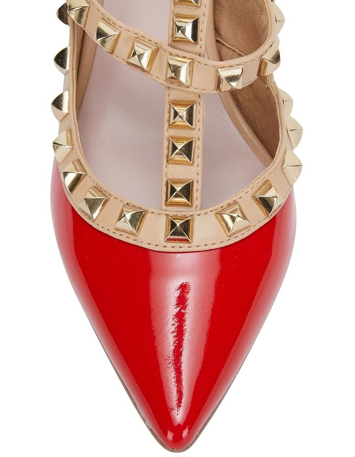 Sphinx Red Patent/Nude Pump image 6