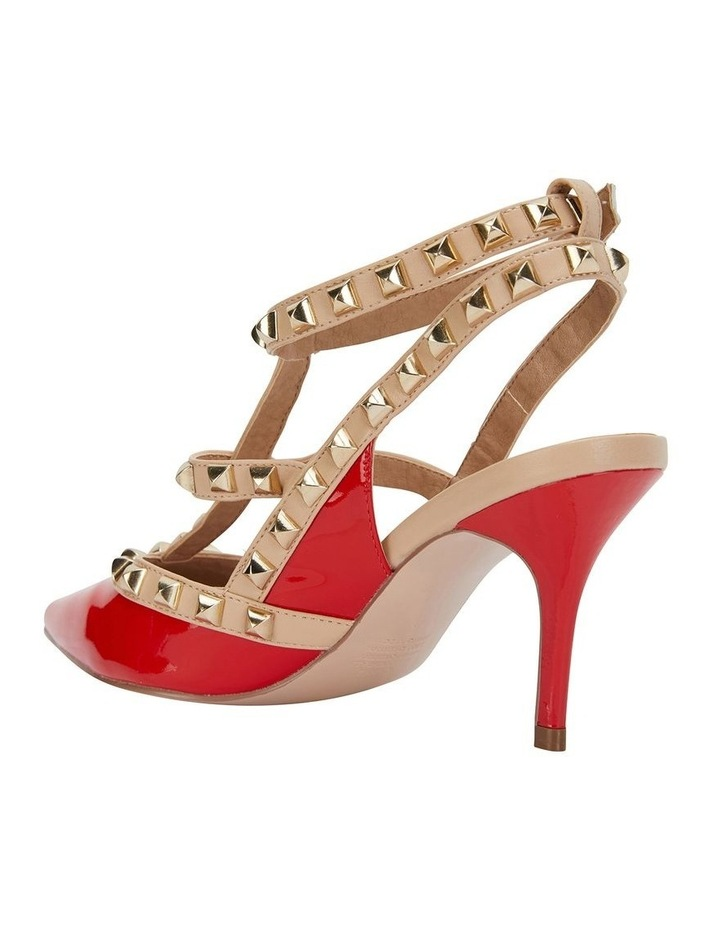 Sphinx Red Patent/Nude Pump image 7