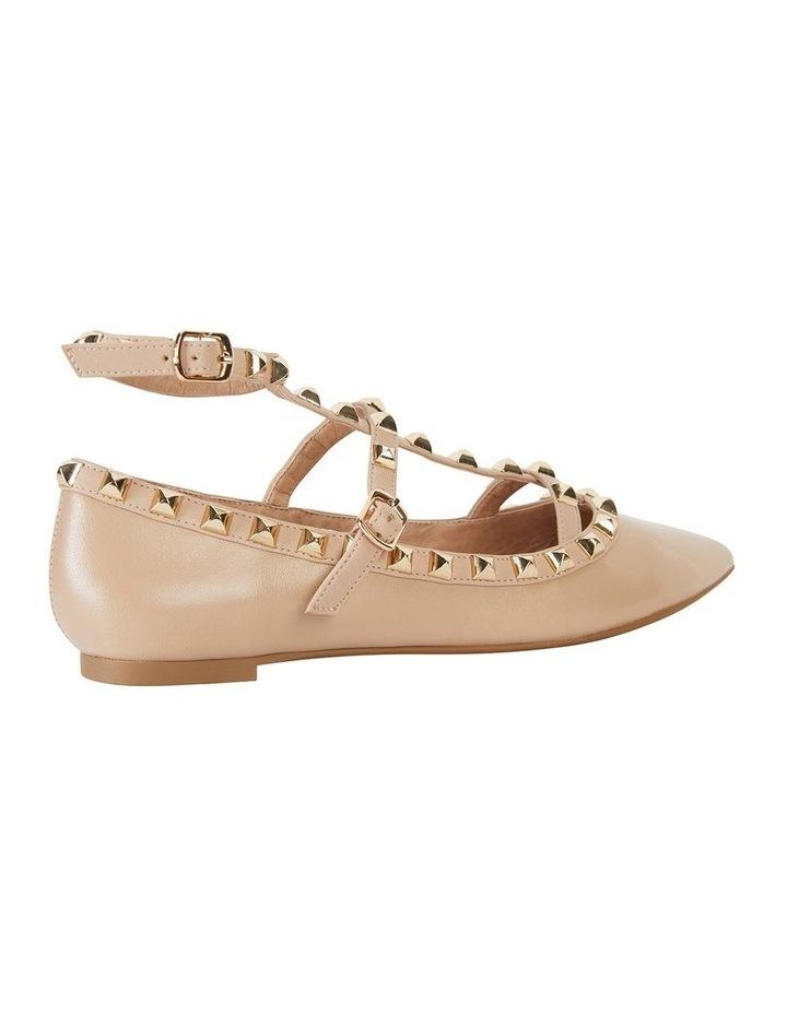 Inez Nude Kid Flat Shoes image 4