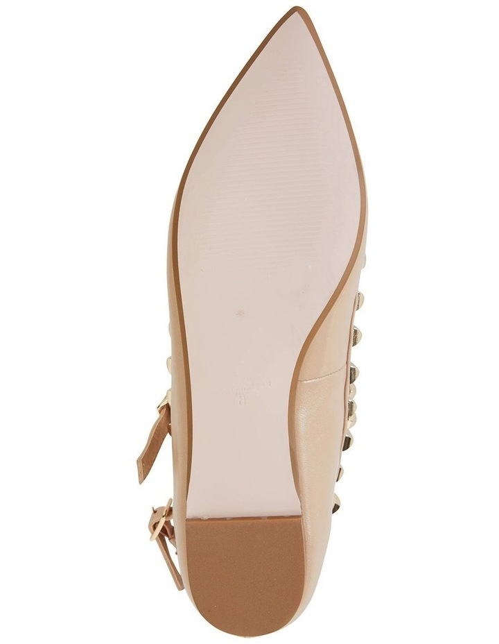 Inez Nude Kid Flat Shoes image 5