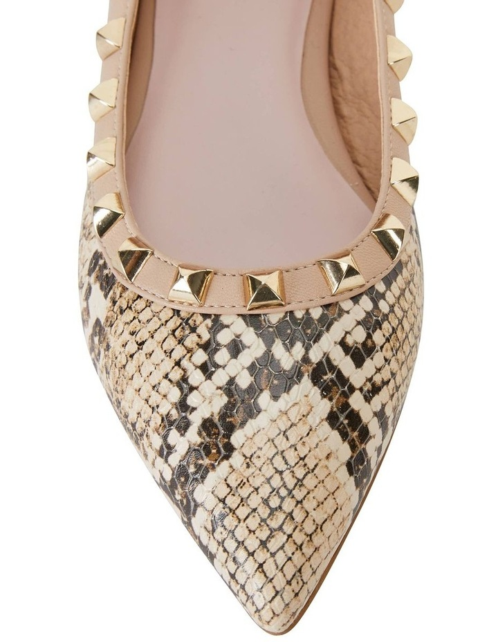 Iggy Natural Snake Kid Flat Shoes image 7