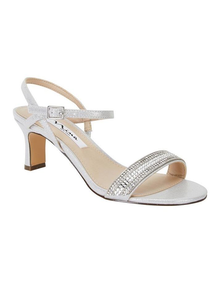Noela True Silver Ref Suedette Sandal image 2