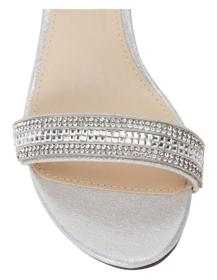 Noela True Silver Ref Suedette Sandal image 5