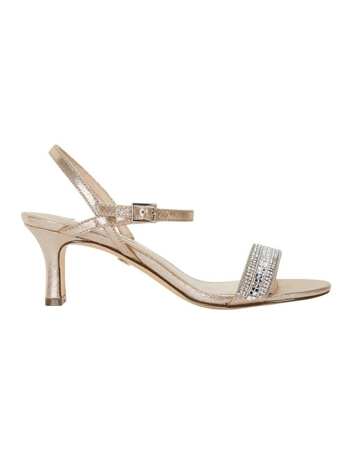 Noela Taupe Reflective Suede Sandal image 1