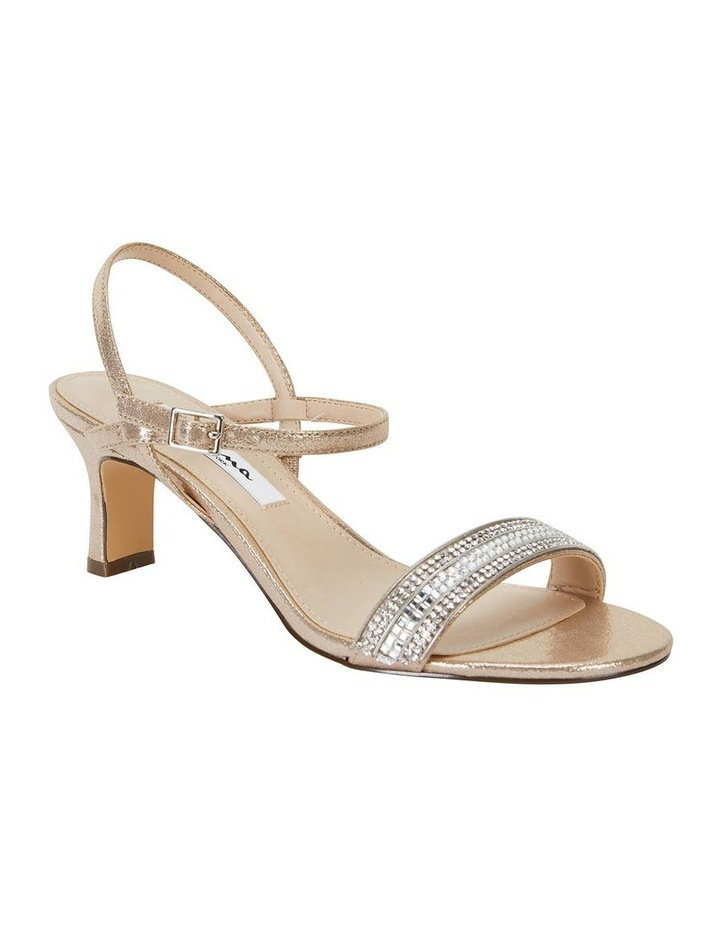 Noela Taupe Reflective Suede Sandal image 2