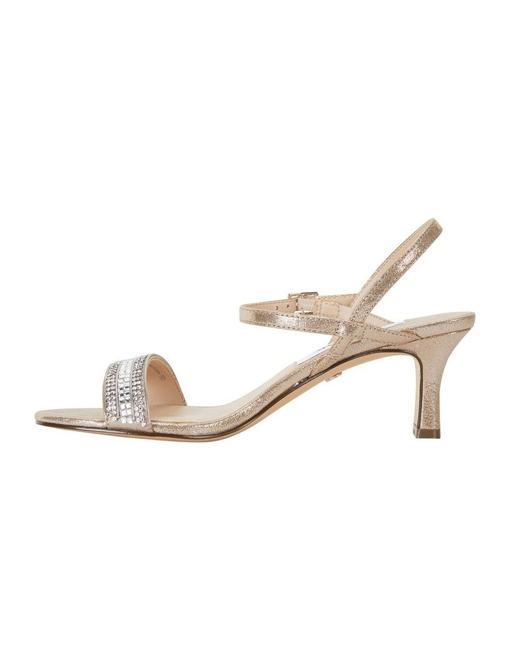 Noela Taupe Reflective Suede Sandal image 3