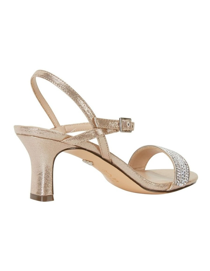 Noela Taupe Reflective Suede Sandal image 4