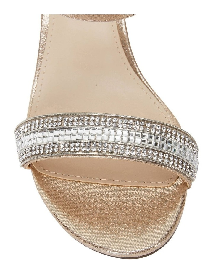 Noela Taupe Reflective Suede Sandal image 5