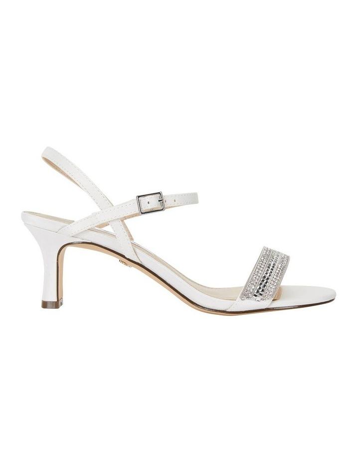 Noela Ivory Lustre Satin Sandal image 1