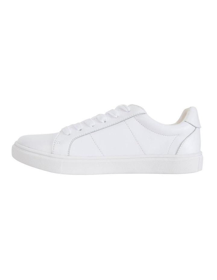 Savage White Kid/Gold Sneaker image 3