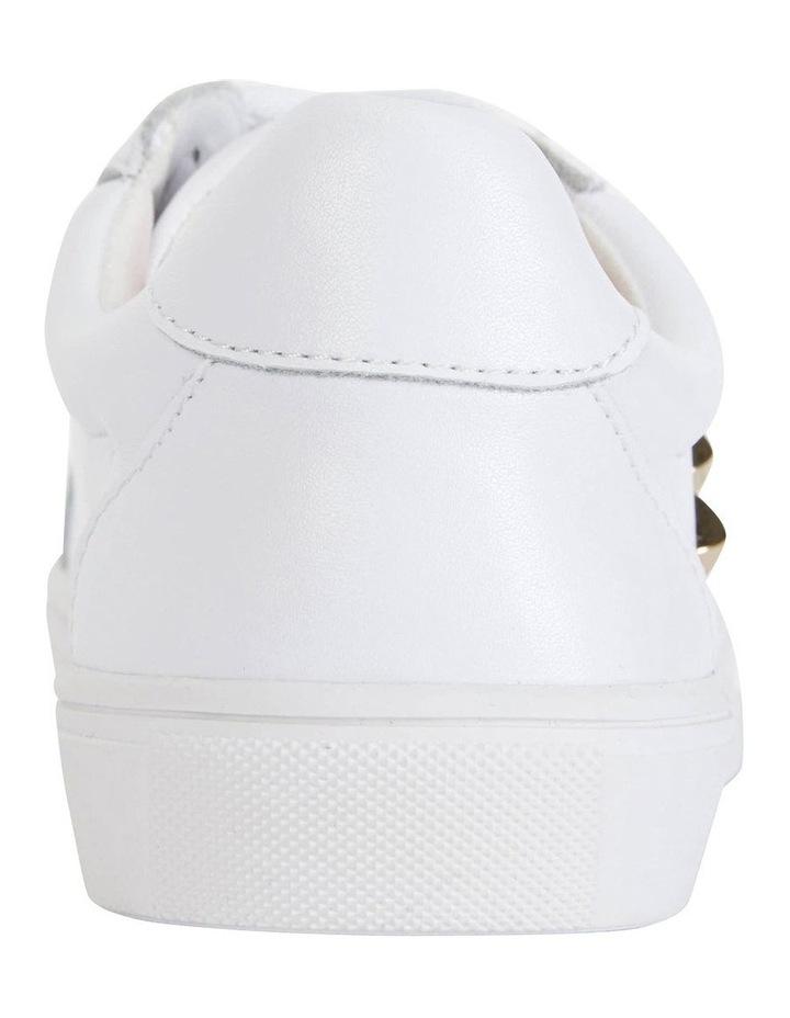 Savage White Kid/Gold Sneaker image 5