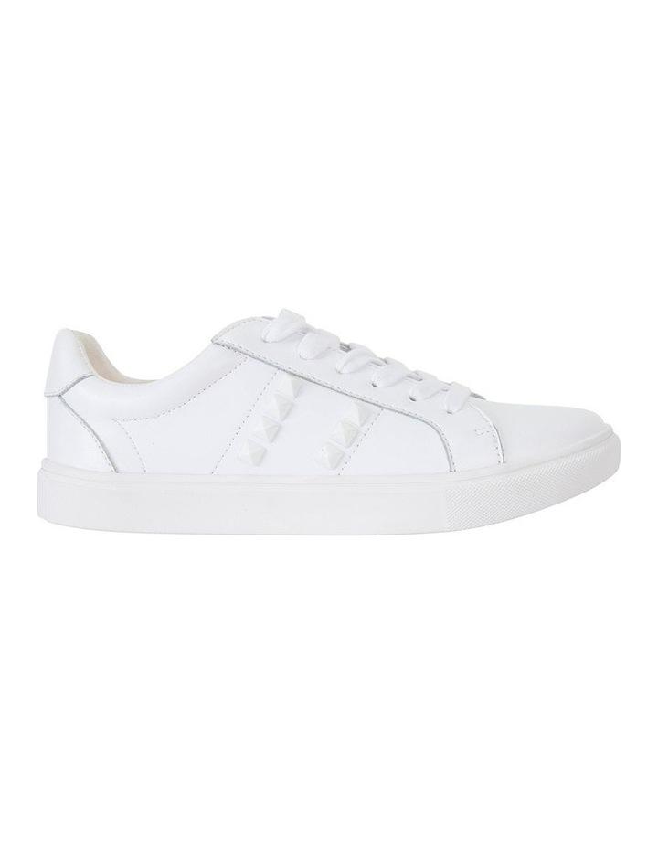 Savage White Matte Sneaker image 1