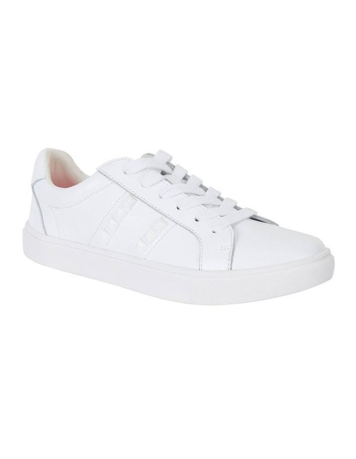 Savage White Matte Sneaker image 2
