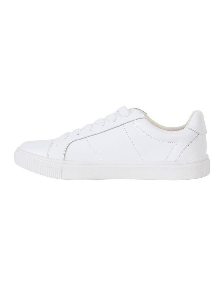 Savage White Matte Sneaker image 3