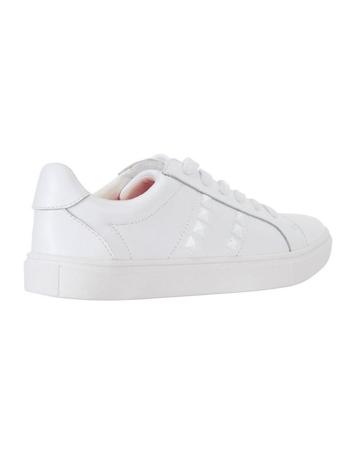 Savage White Matte Sneaker image 4