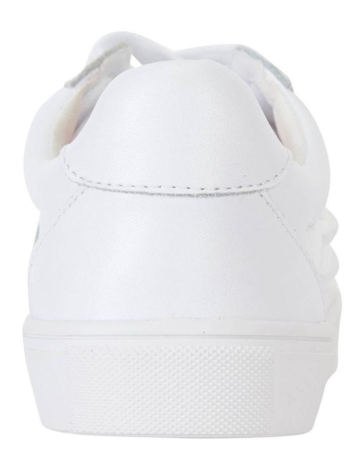 Savage White Matte Sneaker image 5