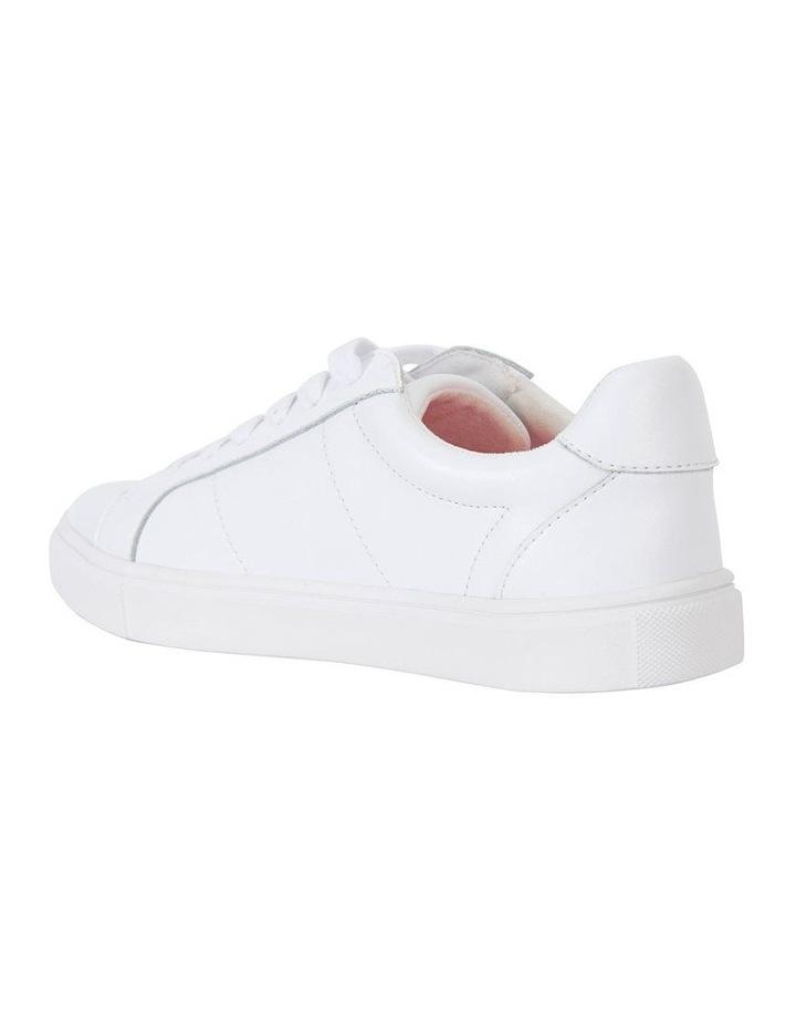 Savage White Matte Sneaker image 7