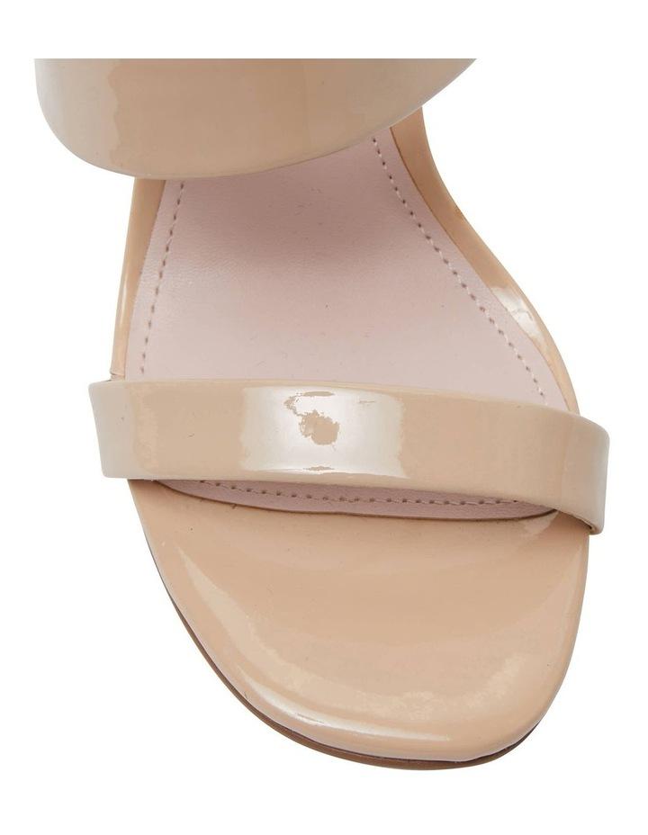 Tempo Nude Patent Sandal image 6