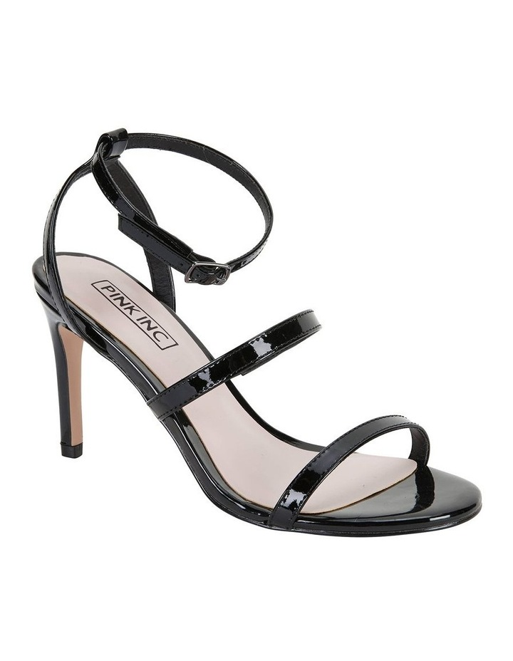 Testify Black Patent Sandal image 2