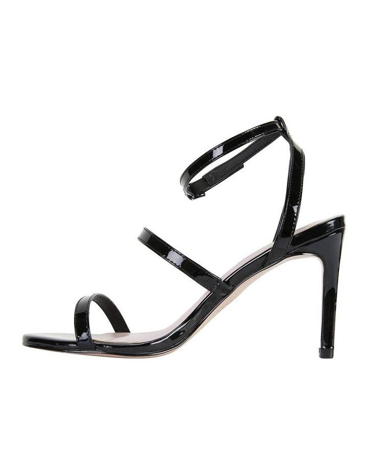 Testify Black Patent Sandal image 3