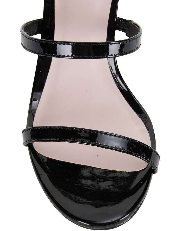 Testify Black Patent Sandal image 6