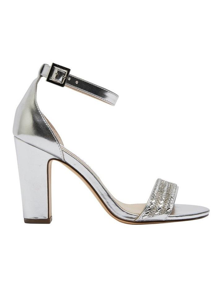 Suzette Silver Metallic Foil Sandal image 1