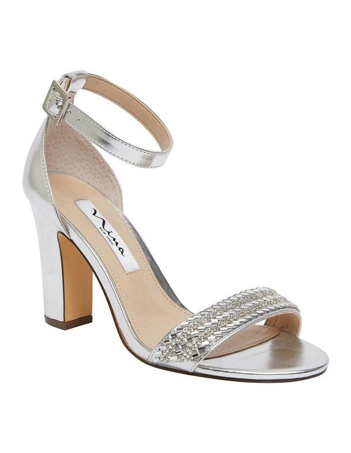 Suzette Silver Metallic Foil Sandal image 2