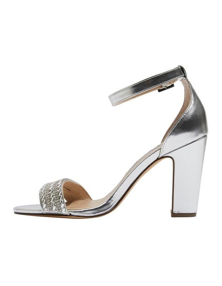 Suzette Silver Metallic Foil Sandal image 3