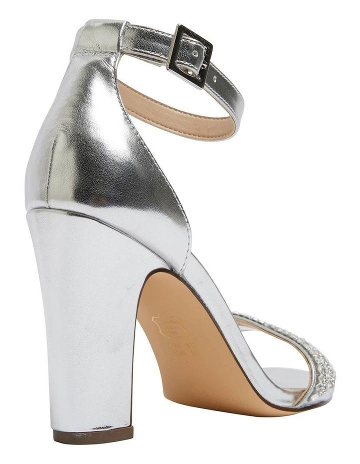Suzette Silver Metallic Foil Sandal image 4
