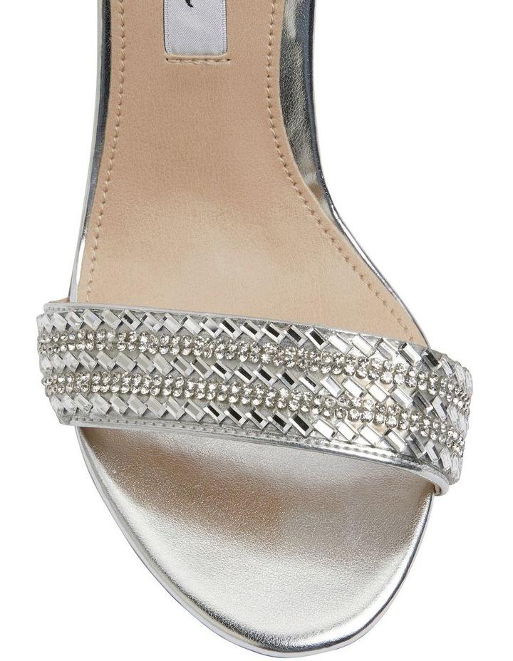 Suzette Silver Metallic Foil Sandal image 5