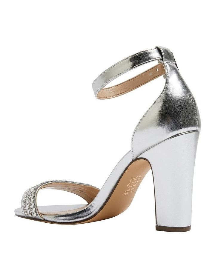 Suzette Silver Metallic Foil Sandal image 6