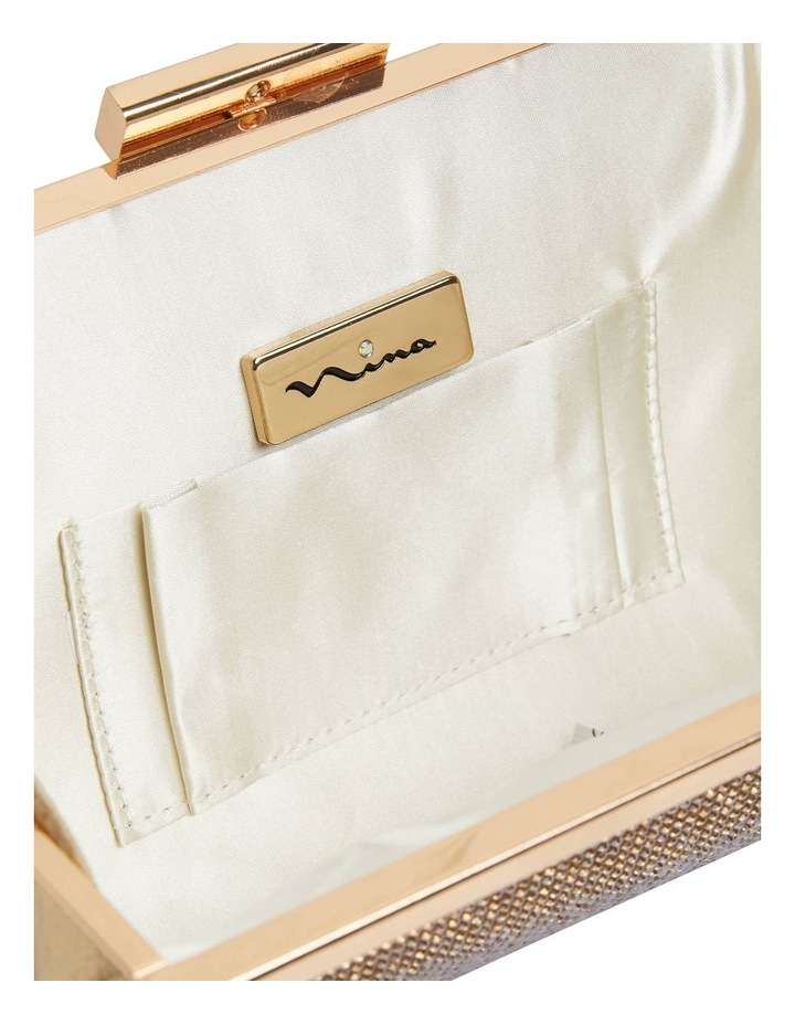 Winslet Gold Beaded Clutch image 2
