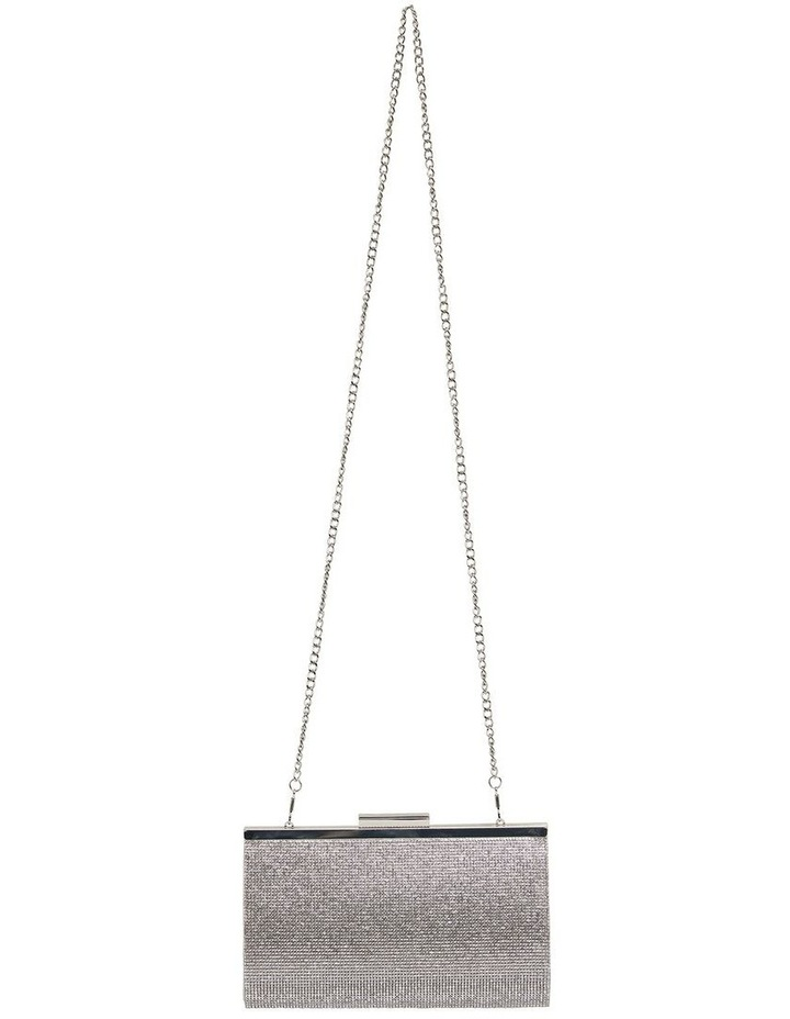 Winslet Silver Beaded Clutch image 2